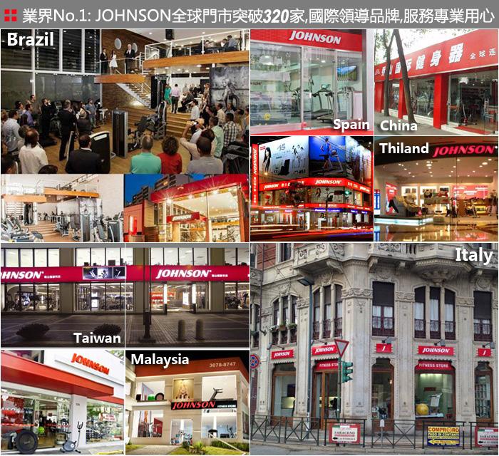 喬山全球健身器材專賣門市