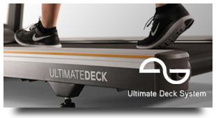 喬山極致的跑步板系統.Ultimate Deck System