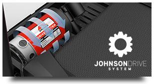 喬山安靜、高效運行的 Johnson Drive System