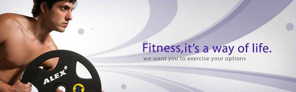 ALEX運動健身器材
