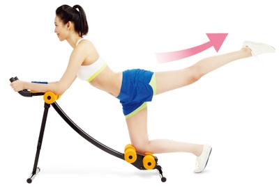 JOHNSON 纖腹美弧形健腹機︱可做瑜珈伸展及其它輔助健身用途