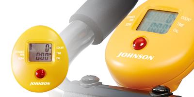JOHNSON 纖腹美弧形健腹機︱簡易儀表操作,五種顯示資訊