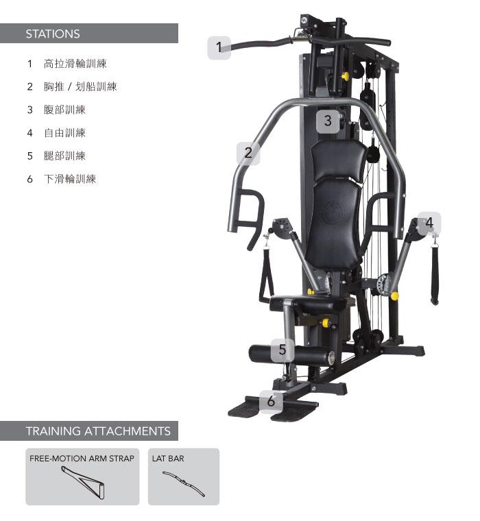 HORIZON Torus 3 多功能重量訓練機