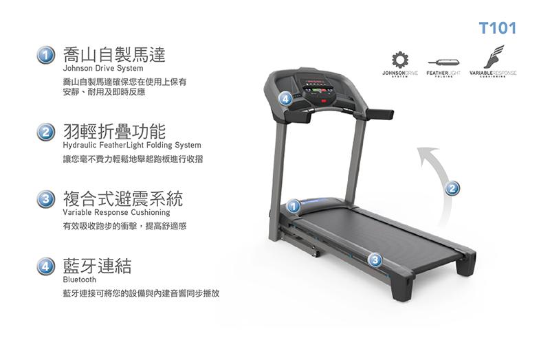 HORIZON T101 電動跑步機