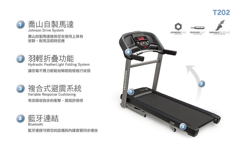 HORIZON T202 電動跑步機