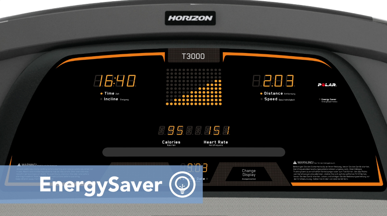 喬山T3000智慧節能裝置.Energy Saver Mode