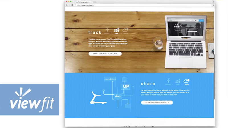 ViewFit運動紀錄雲端整合系統