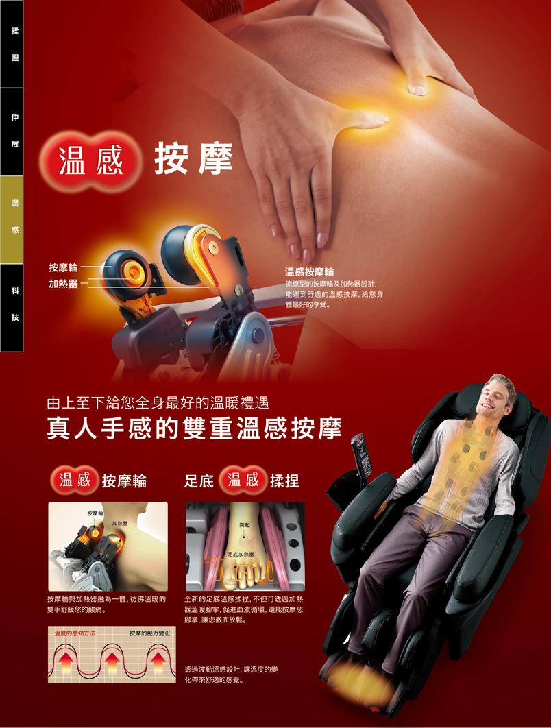 Johnson喬山獨賣 Panasonic 第八代REAL PRO國際牌真人手感溫熱按摩椅 EP-MAH5