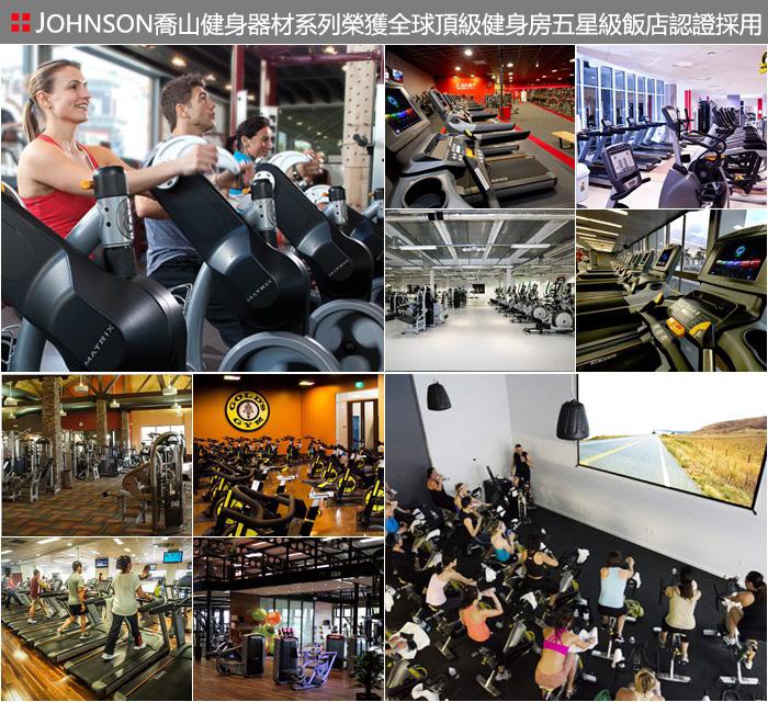 健身房專用健身器材案例