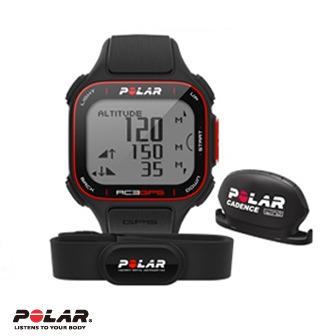 Polar RC3 GPS 運動心率錶含自行車圈速傳感器W.I.N.D