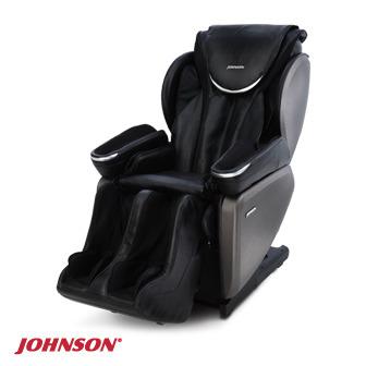 JOHNSON 四手韻律双4D按摩椅(能量黑)︱MR7000