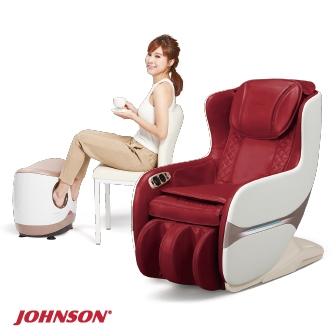 JOHNSON 小漾沙發+鬆鬆腿按摩組合