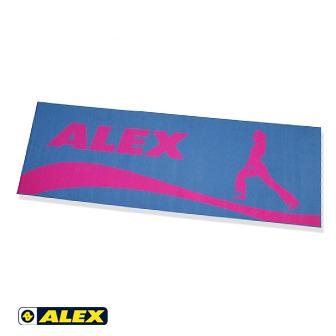 ALEX 人形圖瑜珈墊-灰藍色
