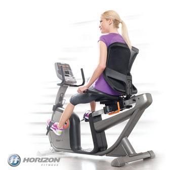 Horizon Elite R4000 斜背式健身車