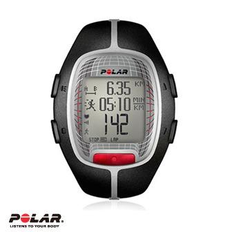 Polar RS300X 黑色跑步心率錶,支援S1,G1,FlowLink