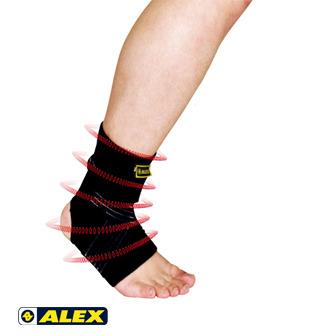 ALEX 繃帶型人性化護踝 M/L/XL