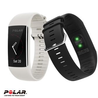 Polar A370 防水健身運動智能手錶 (黑/白)