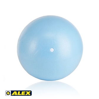 ALEX 韻律球(直徑20CM粉藍)