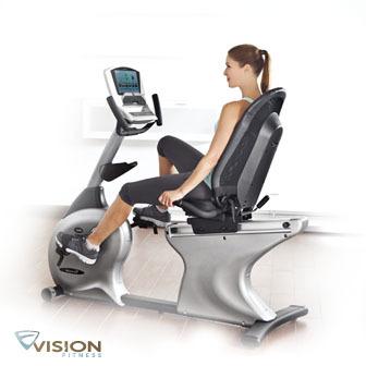 VISION R40 Elegant 斜臥式健身車
