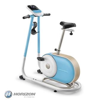 HORIZON Citta系列 BT5.0 直立式健身車|天空藍款