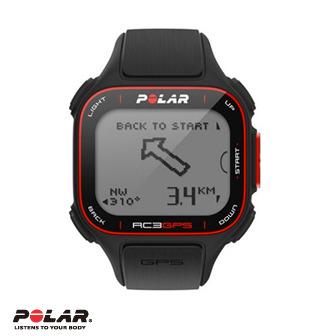 Polar RC3 GPS 運動心率錶(無胸帶配件組)