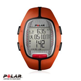Polar RS300X 橘色跑步心率錶,支援S1,G1,FlowLink