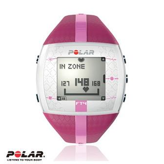 Polar FT4F 女用紫色紫紋消耗熱量專業心率錶