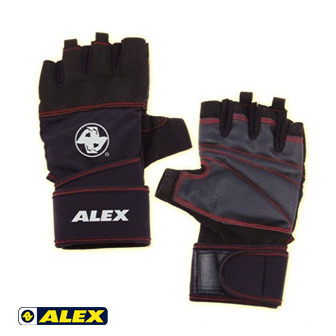 ALEX 手腕加強型POWER皮革手套_A-38