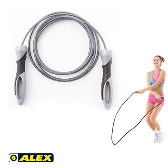 ALEX 專業鋼索加重跳繩(270CM)