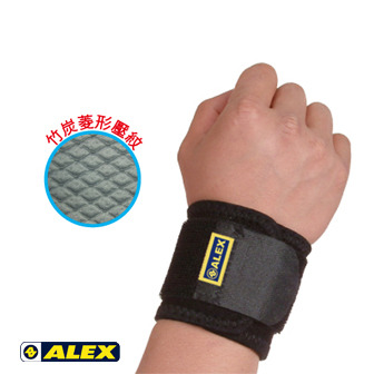 ALEX 竹炭加強型護腕(調整式)