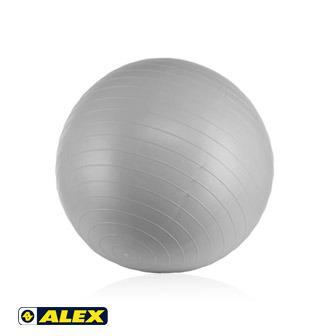 ALEX 韻律球(75CM銀灰色)_B-3075
