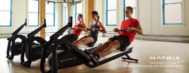 Matrix Rower專業訓練划船機