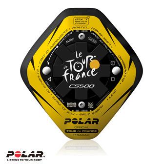 <限量特惠>Polar CS500 自行車用心率碼錶Tour de France w/CAD