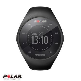 Polar M200 防水跑步智能運動手環/手錶 (黑/紅)