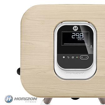 HORIZON Citta系列 BT5.0 直立式健身車|木紋摺疊式辦公桌〔贈品〕