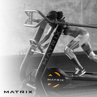Matrix S-Drive 專業商用多重訓練跑步機 無動力跑步機