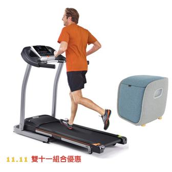 【雙11組合優惠】T82電動跑步機+FM250腳部按摩機