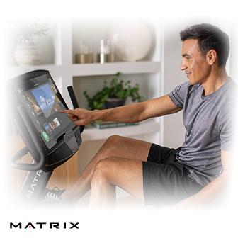 Matrix Retail R50-02 斜臥式健身車