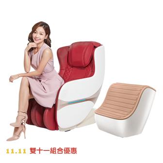 【雙11組合優惠】小漾沙發+FM210新世代秀腿機