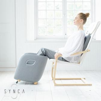 SYNCA 足.腿.腰椅凳造型按摩機 rei︱FM250 腿部按摩